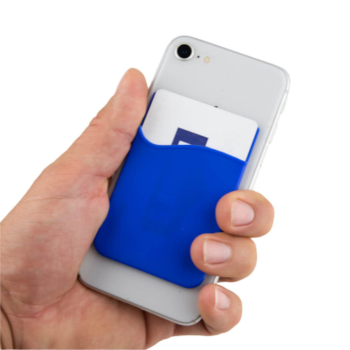 Cell Phone Stick-On Card Wallet