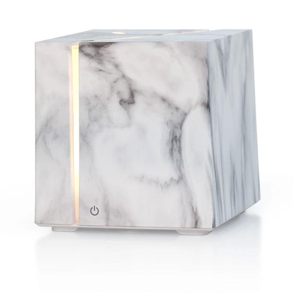 Marble Grain Aromatherapy Diffuser - White