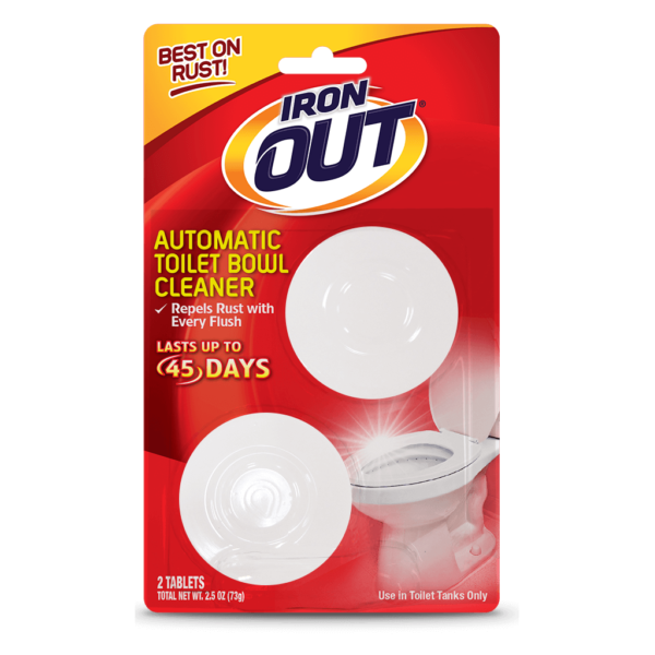 Iron Out Automatic Toilet Bowl Cleaner - 2 use pack