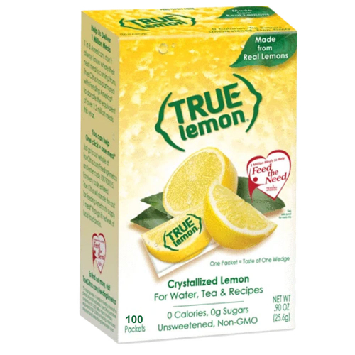 True Lemon Water Flavoring Packet - Box of 100