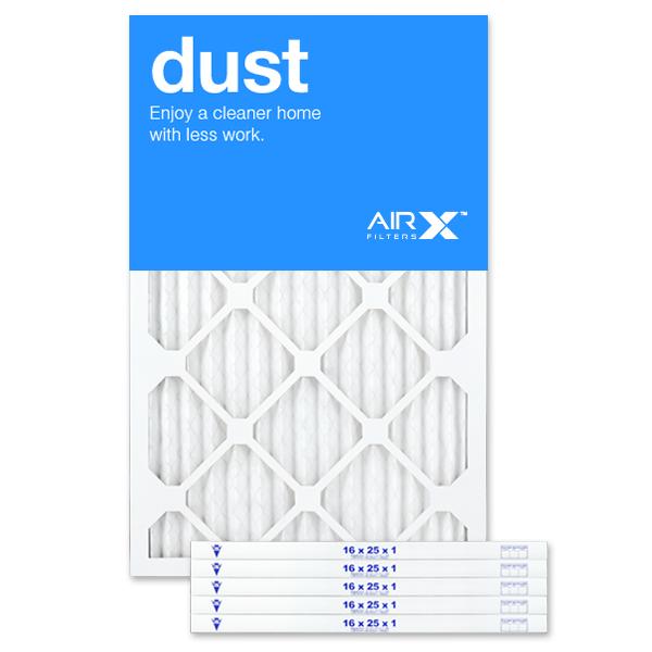 16x25x1 AIRx DUST Air Filter - MERV 8 product image
