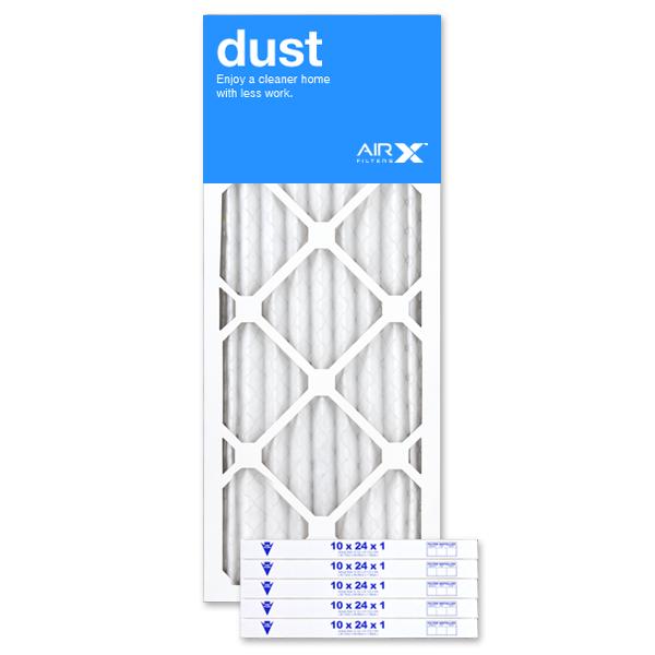 Airx 10x24x1 Dust Refrigerator Water Filters