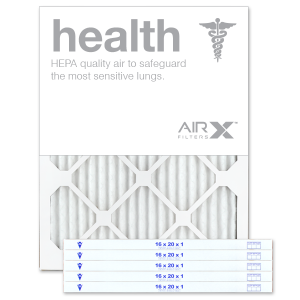 16x20x1 AIRx HEALTH Air Filter - MERV 13 product image