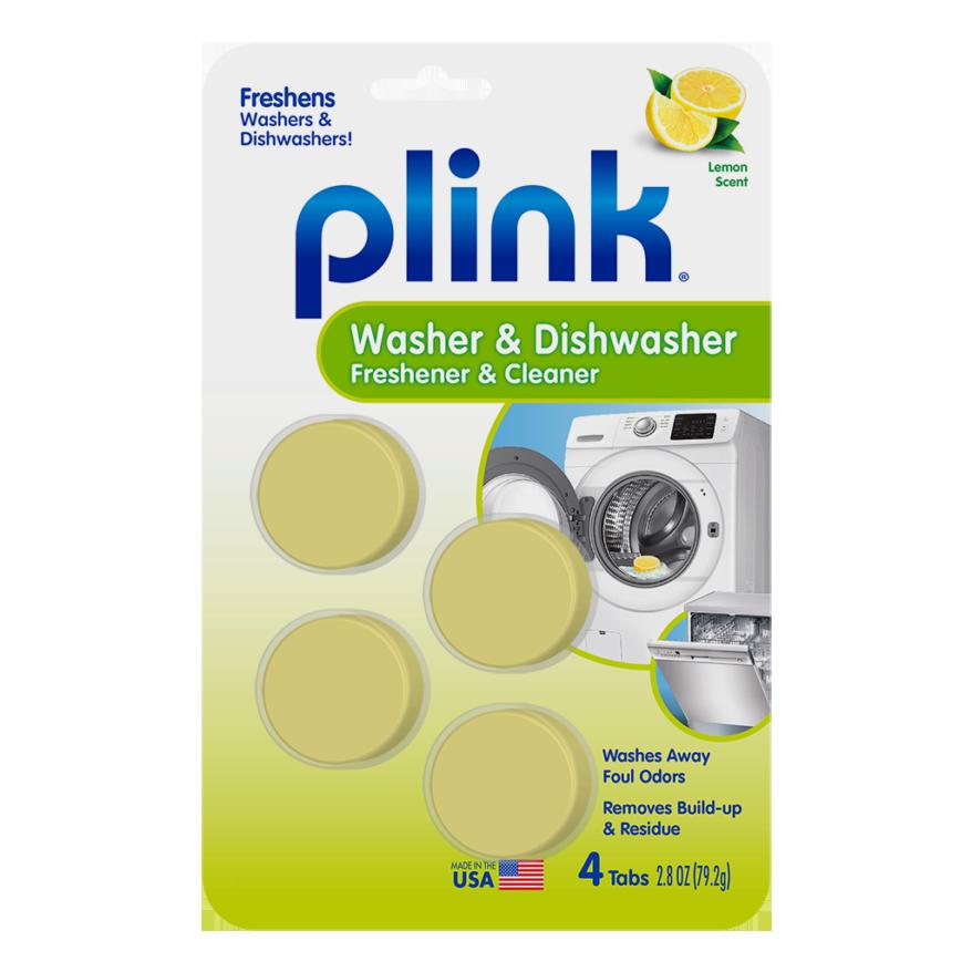 Plink Dishwasher and Washing Machine Cleaner & Freshener