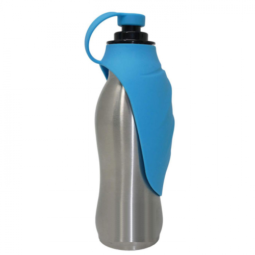 Stainless Steel Dog Water Bottle - 16 oz