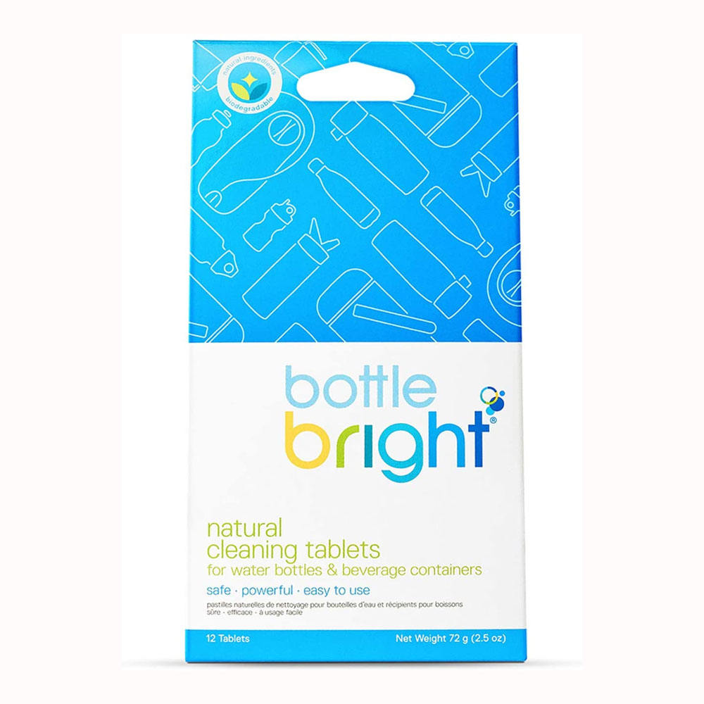 Bottle Bright ® Natural Cleaning Tablets - 12-Pack
