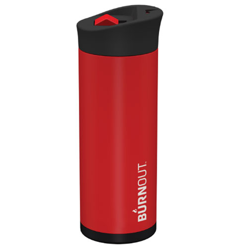BURNOUT Temperature Regulating Travel Mug - Large Red